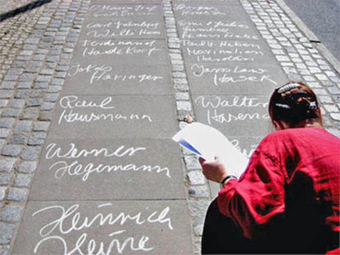 Aktion zum Jahrestag der Bücherverbrennung, Greifswald