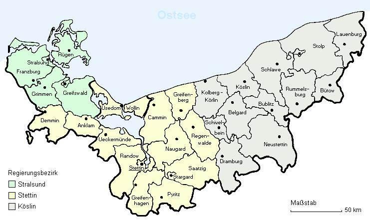 Pommern Karte Vor 1945.Vor Oder Hinter Ost Oder West Pomlit