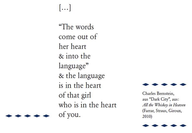 Gedicht englisch selbst geschrieben