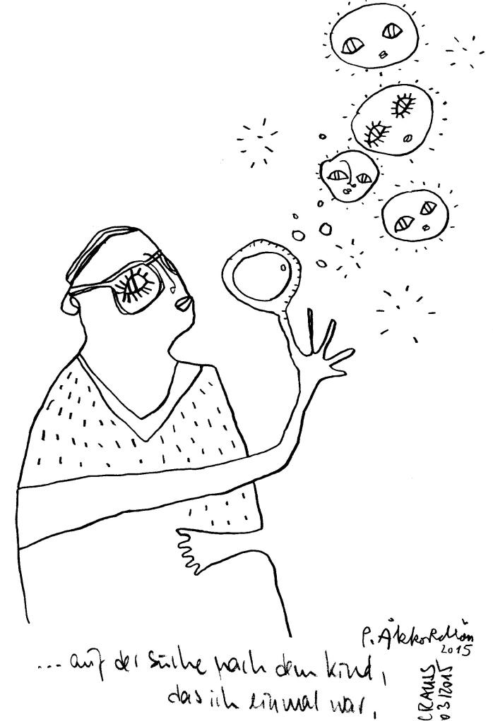 Ein Satz von Crauss, illustriert von Petrus Akkordeon