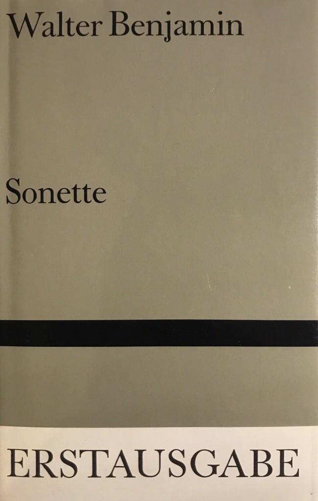 Walter Benjamin Sonette
